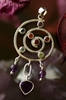 Kundalini Pendant with Amethyst Heart