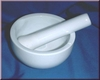 Mortar with pestle Size M
