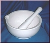 Mortar with pestle Size L