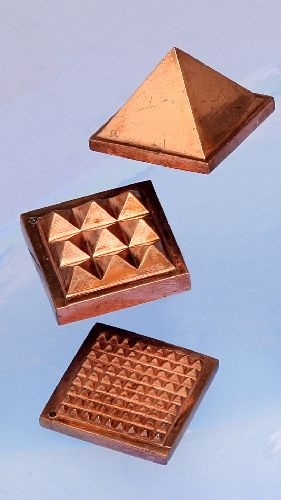 Pure copper pyramid 1